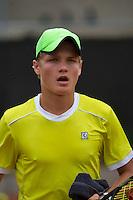 August 8, 2014, Netherlands, Rotterdam, TV Victoria, Tennis, National Junior Championships, NJK,  Bart Stevens (NED)<br /> Photo: Tennisimages/Henk Koster