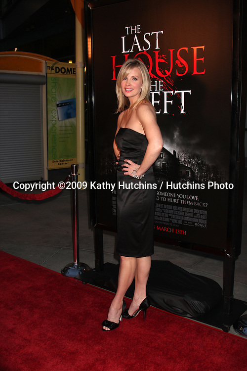 Monica Potter  arriving at the Last House on the Left Premiere at the ArcLight Theaters l in Los Angeles , CA on  March 10, 2009 .©2009 Kathy Hutchins / Hutchins Photo....                .