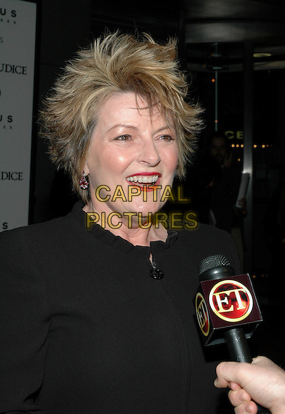 "BRENDA BLETHYN.The NY premiere of ""Pride & Prejudice"" at Loews Lincoln Square Theatre, New York, NY..November 10th, 2005.Photo: Patti Ouderkirk/Admedia/Capital Pictures.Ref: PO/ADM.headshot portrait microphone.www.capitalpictures.com.sales@capitalpictures.com.© Capital Pictures."
