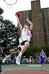 Kyle Singler (33) goes up for a layup during the Elite 24 Hoops Classic game on September 1, 2006 held at Rucker Park in New York, New York.  The game brought together the top 24 high school basketball players in the country regardless of class or sneaker affiliation.