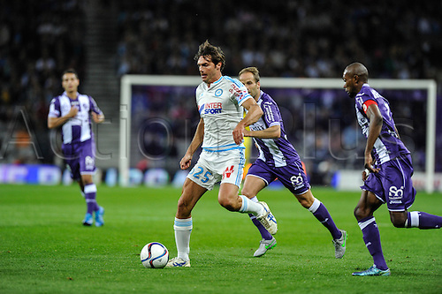 23.09.2015. Toulouse, France. French League 1 football. Toulouse versus Marseille.  Paolo De Ceglie (tfc)