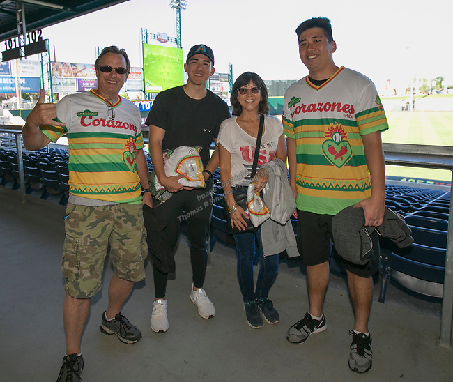 The Reno Aces Copa de la Diversión Jersey night game played on Saturday night, May 11, 2019 in Reno, Nevada.
