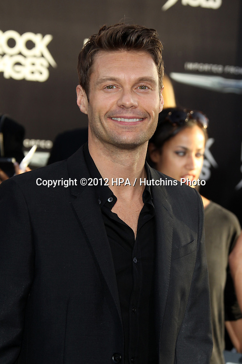 """LOS ANGELES - JUN 8:  Ryan Seacrest arriving at """"Rock of Ages"""" World Premiere at Graumans Chinese Theater on June 8, 2012 in Los Angeles, CA"""