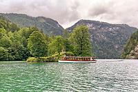 Elektroboote auf dem Königssee - Berchtesgaden 16.07.2019: Königssee