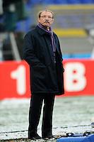 """Jacques Brunel allenatore Italia.Roma 11/20/2012 Stadio """"Olimpico"""".Rugby 6 Nations Tournament - Torneo delle 6 Nazioni 2012.Italia Vs Inghilterra - Italy Vs England .Foto Insidefoto Andrea Staccioli"""