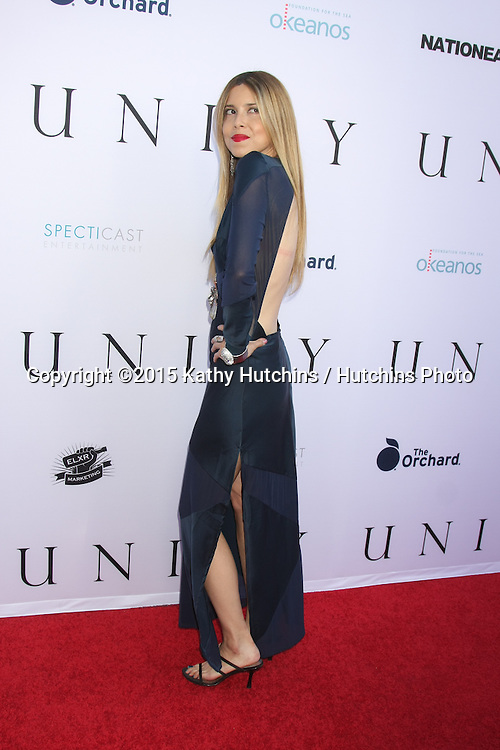 "LOS ANGELES - JUN 24:  Simone Reyes at the ""Unity"" Documentary World Premeire at the Director's Guild of America on June 24, 2015 in Los Angeles, CA"