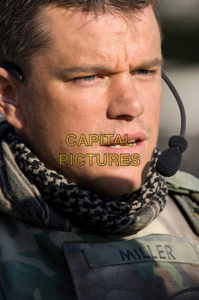 MATT DAMON.in Green Zone.*Filmstill - Editorial Use Only*.CAP/FB.Supplied by Capital Pictures.
