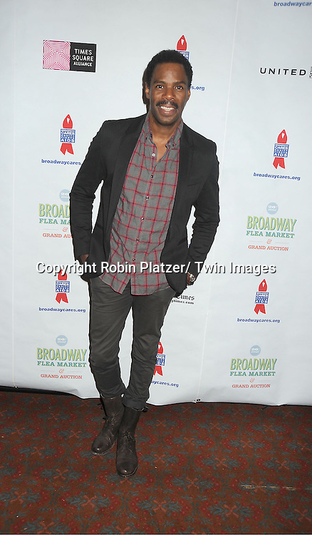 Colman Domingo attends the 26th Annual Broadway Flea Market and Grand Auction benefitting Broadway Cares/ Equity Fights Aids on September 23, 2012 at the Shubert Theatre in New York City.