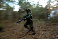 Fort Benning, GA. prepares US Army Rangers for the real thing in jungle warfare.