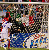 Costa Rica vs El Salvador in the first round of the Concacaf Gold Cup