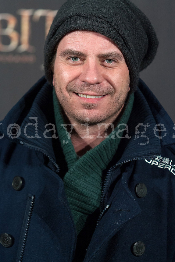Javier Collado at The Hobbit premiere in Madrid