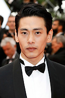 "Huang Xiaoming at the ""Burning"" premiere during the 71st Cannes Film Festival at the Palais des Festivals on May 16, 2018 in Cannes, France. ***FRANCE, SWEDEN, NORWAY, DENARK, FINLAND, USA, CZECH REPUBLIC, SOUTH AMERICA ONLY***"