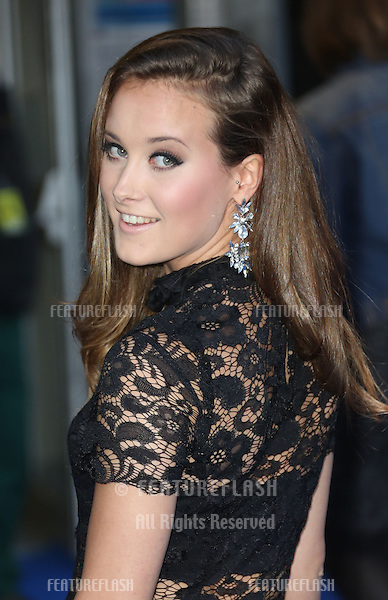 April Pearson arriving for the UK premiere of Filth held at the Odeon - Arrivals<br /> London. 30/09/2013 Picture by: Henry Harris / Featureflash