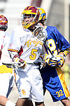 Paul Coleman (UCSB #32) and  Corey Janoff (USC #5)