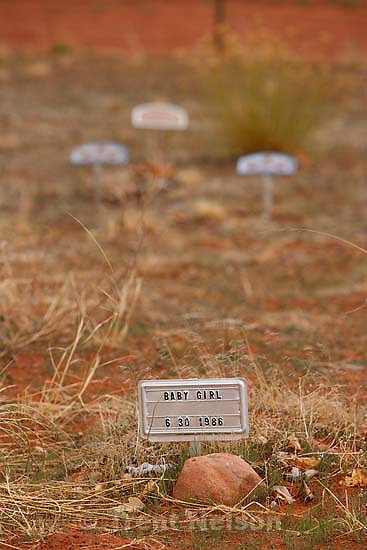 FLDS baby cemetery