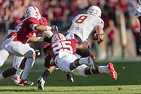STANFORD, CA - SEPTEMBER 22, 2013: Alex Carter during Stanford's game against Arizona State. The Cardinal defeated the Sun Devils 42-28.