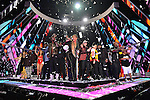 MIAMI, FL - DECEMBER 31: PITBULL'S NEW YEAR'S REVOLUTION: Hosted by Queen Latifah and Snoop Dogg. PITBULL'S NEW YEAR'S REVOLUTION returns to FOX on Saturday, Dec. 31, live from Miami, FL, 11:00 PM-12:30 AM ET (CT/MT/PT tape-delayed) for the countdown to 2017. At Bayfront Park on Saturday December 31, 2016 in Miami, Florida. Pictured:Queen Latifah, Pitbull, Nelly, Young MC, Lunchmoney Lewis, Rob Base, Coolio, DesIIgner,Brittany O'grady, Ryan Destiny, Jude Demorest, Quincy Brown, Marc Walker, Naughty By Nature, Tone Loc, Biz Markie, Sandra 'Pepa' Denton, Deidra 'Spinderella' Roper, Cheryl 'Salt' James of Salt-N-Pepa.  Photo by  Johnny Louis/jlnphotography.com