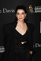 BEVERLY HILLS, CA- FEBRUARY 09: St. Vincent at the Clive Davis Pre-Grammy Gala and Salute to Industry Icons held at The Beverly Hilton on February 9, 2019 in Beverly Hills, California.      <br /> CAP/MPI/IS<br /> &copy;IS/MPI/Capital Pictures