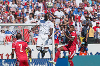 Carson, CA - Sunday, February 8, 2015 Jozy Altidore (17) of the USMNT. The USMNT defeated Panama 2-0 during an international friendly at the StubHub Center.