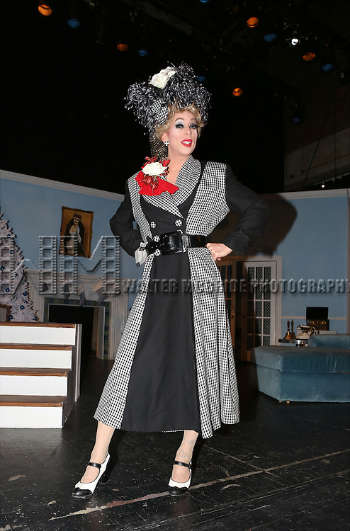 Sherry Vine from the cast of 'Christmas with the Crawfords' at the Abrons Arts Center Henry Street Settlement Theatre on December 14, 2014 in New York City.