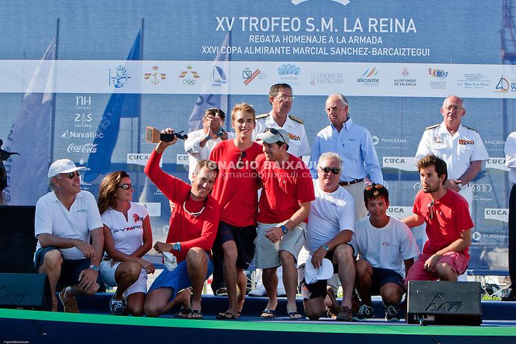 Trofeo S.M. la Reina. Real Club Náutico de Valencia