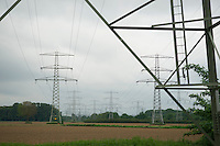 pylons for the  transport of electric power