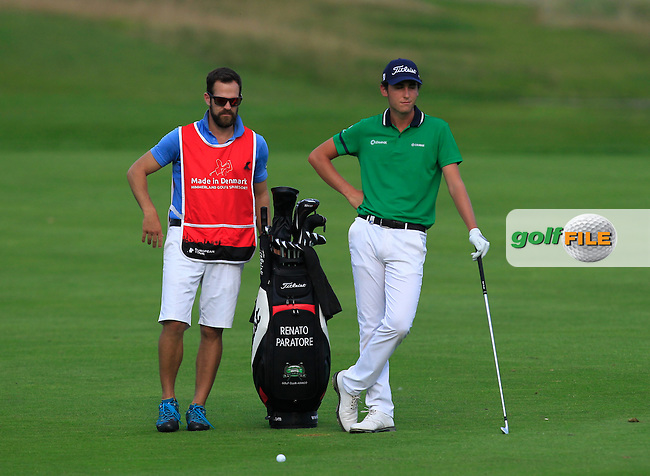 Renato Paratore (ITA) on the 6th fairway during Round 1 of the Made in Denmark 2016 at the Himmerland Golf Resort, Farso, Denmark on Thursday 25th August 2016.<br /> Picture:  Thos Caffrey / www.golffile.ie<br /> <br /> All photos usage must carry mandatory copyright credit   (&copy; Golffile | Thos Caffrey)