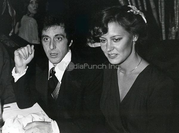 Al Pacino & Christine Lahti 1978<br /> Photo By John Barrett-PHOTOlink.net / MediaPunch
