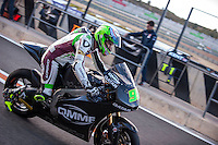 Anthony West in pit line at pre season winter test IRTA Moto3 & Moto2 at Ricardo Tormo circuit in Valencia (Spain), 11-12-13 February 2014