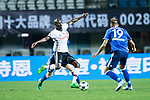 Besiktas Istambul Midfielder Atiba Hutchinson (L) plays against FC Schalke Forward Guido Burgstaller (R) during the Friendly Football Matches Summer 2017 between FC Schalke 04 Vs Besiktas Istanbul at Zhuhai Sport Center Stadium on July 19, 2017 in Zhuhai, China. Photo by Marcio Rodrigo Machado / Power Sport Images