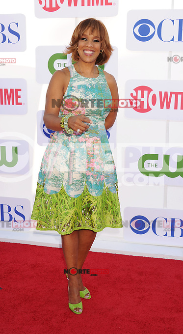 BEVERLY HILLS, CA - JULY 29: Gayle King arrives at the CBS, Showtime and The CW 2012 TCA summer tour party at 9900 Wilshire Blvd on July 29, 2012 in Beverly Hills, California. /NortePhoto.com<br /> <br />  **CREDITO*OBLIGATORIO** *No*Venta*A*Terceros*<br /> *No*Sale*So*third* ***No*Se*Permite*Hacer Archivo***No*Sale*So*third*
