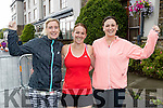 Pictured at the Rose of Tralee 10k on Sunday morning last were l-r: Edel Broderick, Bridget Moore and Laragh Stevens (all from Tralee).