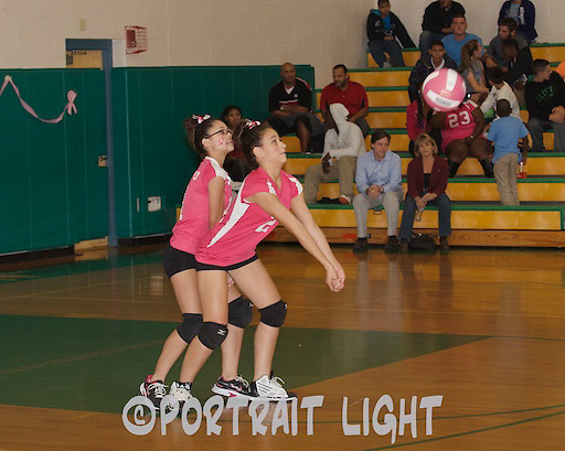CHS sophomore Isializ Caleron (right) and sophomore Nashaly Crespo.