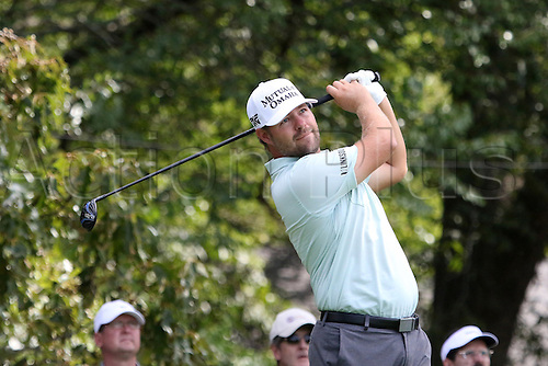 23.09.2016. Atlanta, Georgia, USA.   Ryan Moore during the second round of the 2016 PGA Tour Championship at East Lake Golf Club in Atlanta, Georgia.