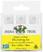 India Tree Nature's Colors Decorating Set, India Tree Decorating Colors