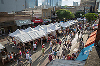 Since 1979, the Old Pecan Street Fall Arts Festival has been filling historic 6th street with fine arts, live music, and great food. This event has helped Austin acheive its title as live music capital of the world with its over 80 musical performance for two days on 6 stages. Thats the most bands you can see for free in Austin at anytime. Music includes: Rock, Country, Blues, Latino, Tejano, Oldies, Irish, Blue Grass, Zydeco, Funk, and more. Also this festival has helped Austin achieve its title as cultural meca of the world 2003. We have hand made arts and crafts from all over the country by 300 different vendors. This event also includes a carnival for the kids, street performers, face painters, clowns, and other activities that make it fun for the entire family.