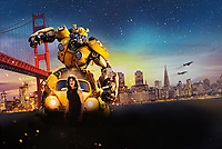 Promotional art with Hailee Steinfeld.<br /> Bumblebee (2018) <br /> *Filmstill - Editorial Use Only*<br /> CAP/RFS<br /> Image supplied by Capital Pictures
