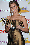 Audrina Patridge honored with female star of tomorrow at the Showest 2009 Awards held at the Paris Hotel in Las Vegas Nevada, April 2, 2009. Fitzroy Barrett