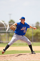 Jeremy Gould of the Gulf Coast League Mets during the game against the Gulf Coast League Nationals June 27 2010 at the Washington Nationals complex in Viera, Florida.  Photo By Scott Jontes/Four Seam Images