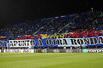 Getafe CF's supporters during UEFA Europa League match. December 12,2019. (ALTERPHOTOS/Acero)