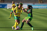 NEIVA  -COLOMBIA, 5-03-2017. Action game between Atletico Huila and La Equidad.  during match for the date 3 of the Women´s  Aguila League I 2017 played at Ramirez Villegas  stadium . Photo:VizzorImage / Sergio Reyes   / Contribuidor