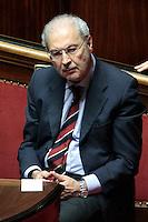 Carlo Trigilia.Roma 21/05/2013 Senato. Il Premier riferisce al Senato sul consiglio UE..Italian Premier's speech at the Senate about UE..Photo Samantha Zucchi Insidefoto