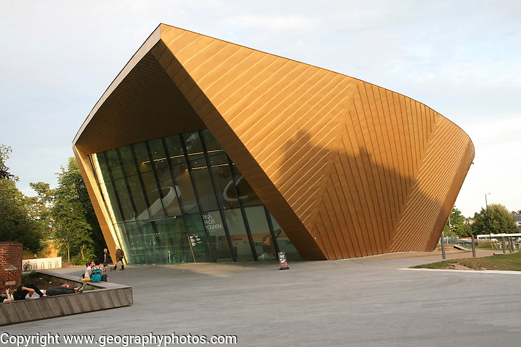 Firstsite contemporary arts gallery building, Colchester, Essex, England