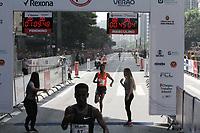 SÃO PAULO,  SP, 31.12.2018 - SÃO-SILVESTRE - Dawit Fikadu Admasu segundo colocado masculino  na  Corrida Internacional de São Silvestre na Avenida Paulista em São Paulo nesta segunda-feira, 31. (Foto: Nelson Gariba/Brazil Photo Press)
