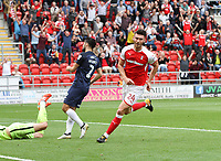 ROTHERHAM VS SOUTHEND 3-0<br /> <br /> FIRST HALF GOALS FROM KIEFFER MOORE AND JOE NEWELL PUT THE MILLERS AHEAD 3-0<br /> <br /> PICTURES - ALEX ROEBUCK / WWW.ALEXROEBUCK.CO.UK