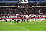 10.03.2018, BayArena, Leverkusen , GER, 1.FBL., Bayer 04 Leverkusen vs. Borussia Moenchengladbach<br /> im Bild / picture shows: <br /> Banner der Leverkusener Fans <br /> <br /> <br /> Foto &copy; nordphoto / Meuter