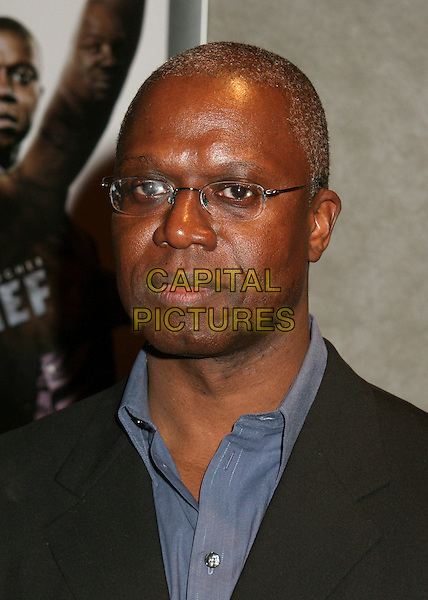 """ANDRE BRAUGHER .FX Premiere Screening of """"Thief"""" at Pacific Design Center, West Hollywood, California, USA..March 21st, 2006.Photo: Byron Purvis/AdMedia/Capital Pictures.Ref: BP/ADM.headshot portrait.www.capitalpictures.com.sales@capitalpictures.com.© Capital Pictures."""