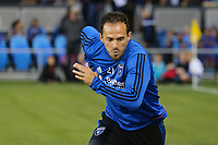 San Jose, CA - Saturday September 16, 2017: Marco Ureña prior to a Major League Soccer (MLS) match between the San Jose Earthquakes and the Houston Dynamo at Avaya Stadium.