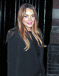 OIC - ENTSIMAGES.COM - Lindsay Lohan leaving  the chiltern firehouse london 3am  30th  November 2014  Photo   Padraig O Sullivan Ents Images/OIC 0203 174 1069