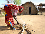 Fatna lives in a camp for internally displaced persons outside Kubum, in South Darfur, where ACT-Caritas is providing water, sanitation and other emergency services.